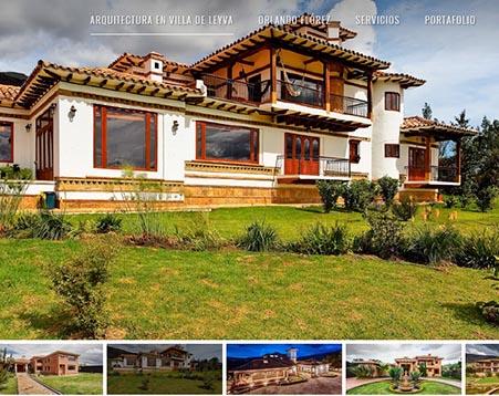 Publicidad en villa de leyva neurekas for Arquitectura sitio web