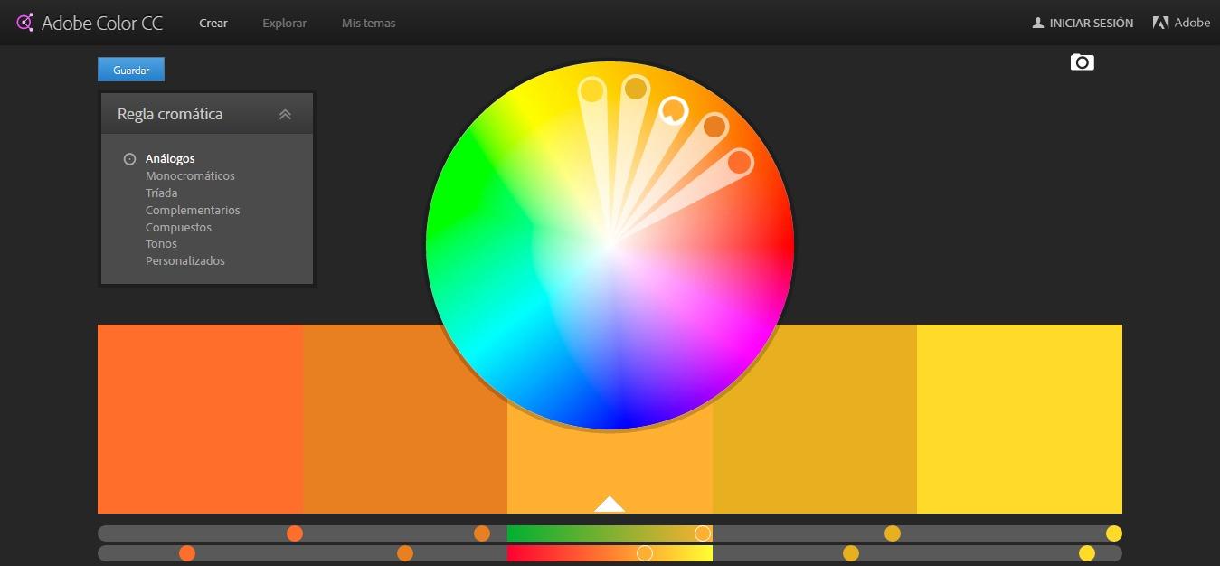 Paleta de colores en el dise o web neurekas - Paleta de colores bruguer ...