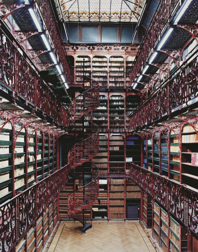 biblioteca impresionante