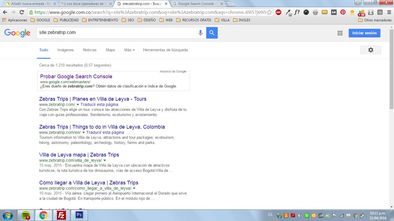 operadores avanzados en google