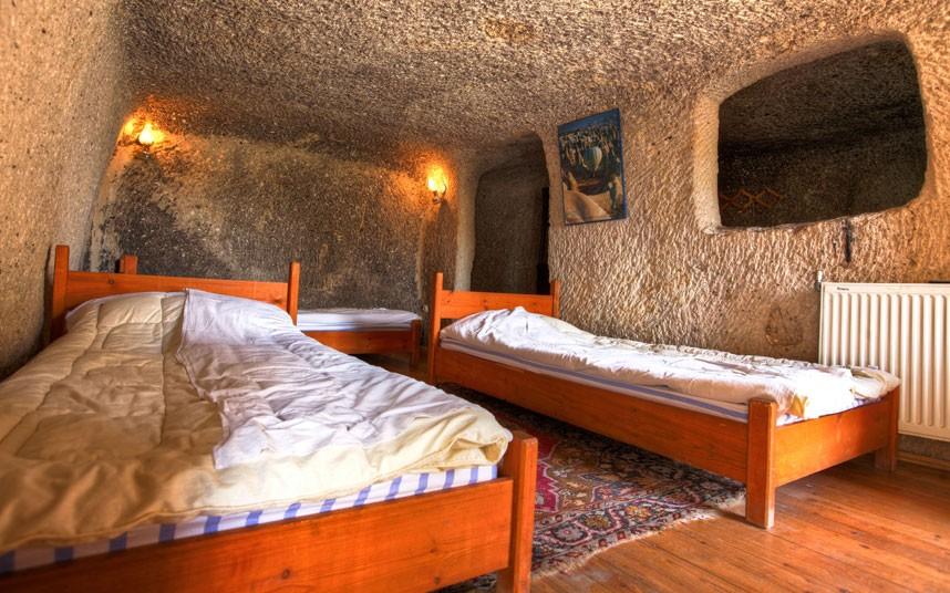 hoteles cavernas