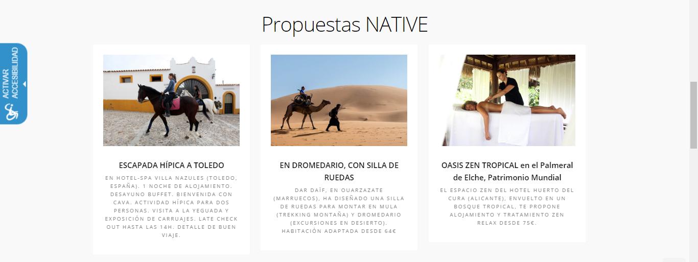 ejemplos innovacion turismo