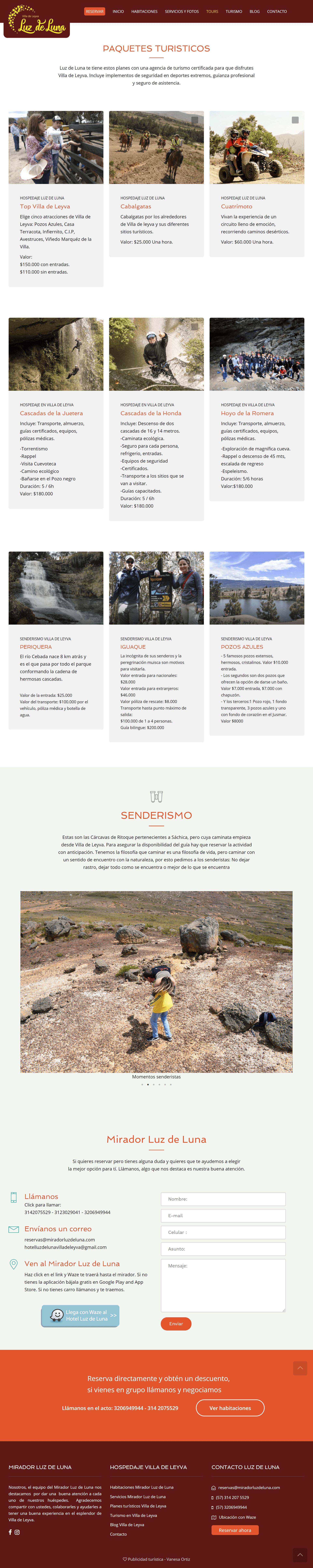 diseño paginas web villa de leyva