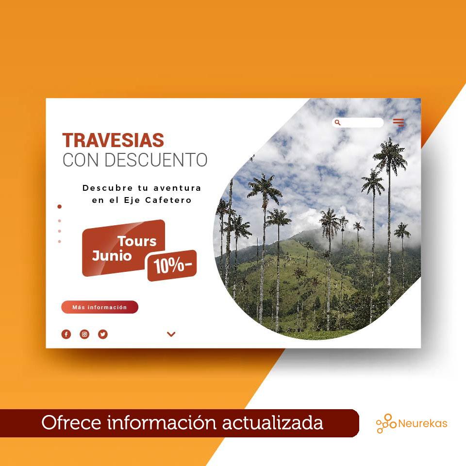 sitios web de turismo